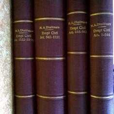 Manual de drept civil {4 volume, 1929}