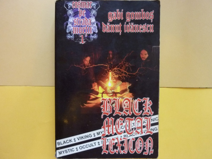 Black Metal Lexicon + 50 CD bonus foto mare