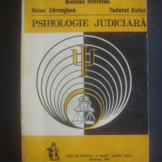 NICOLAE MITROFAN - PSIHOLOGIE JUDICIARA