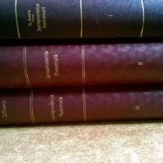 Sever Andru - Jurisprudenta rezumata {3 volume, 1933}