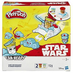 Jucarie Play-Doh Star Wars Can-Heads Luke Skywalker And Snowtrooper Play Set Hasbro