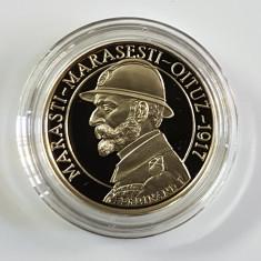 100 ani de la luptele Marasti Marasesti Oituz 50 bani PROOF 2017 - Moneda Romania, Cupru (arama)