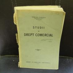 STUDII DE DREPT COMERCIAL - STELIAN IONESCU - Carte Drept comercial