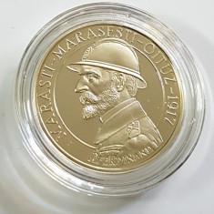 NOU!!! 50 bani 2017 PROOF - 100 ani de la luptele Marasti Marasesti Oituz - Moneda Romania, Cupru (arama)