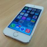 Schimb iPhone 5S Apple silver cu Samsung S6, Argintiu, 16GB, Neblocat