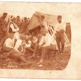 Fotografie tip C.P. 1917 soldati, Sighisoara WW.I. Feldpost, reg 31 PUCHERNA - Fotografie veche
