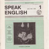 SPEAK ENGLISH NR1/1990 - REVISTA PT INVATAREA LIMBII ENGLEZE - Revista scolara
