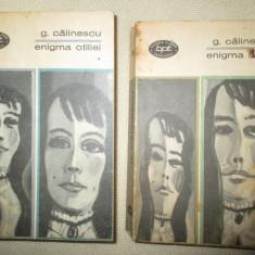 Enigma Otiliei, Vol. 1, 2 - G. Calinescu - Roman