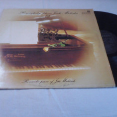 DISC VINIL ROMANTIC PIANO JIRI MALASEK 1982 DISC PANTON STARE EXCELENTA - Muzica Jazz