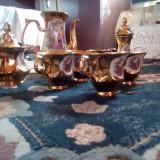 Set cesti de ceramica cu aur - Ceasca