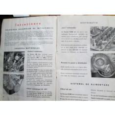 Carte tehnica Auto, instructiuni autorurism epoca/retro Fiat 850,lb.romana