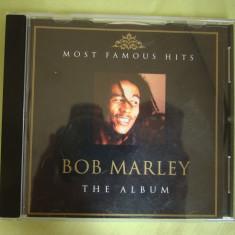 BOB MARLEY - The Album - C D Original - Muzica Reggae