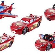 Set Masinuta Cars Design & Drive Big Car Lightning Mcqueen With Accessories Disney