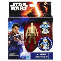 Jucarie Star Wars The Force Awakens Space Mission Armour Poe Dameron Pilot Hasbro