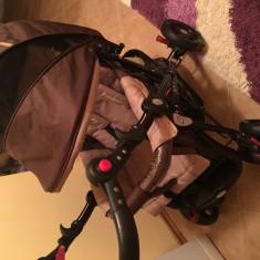 CARUCIOR DHS BABY - Carucior copii 2 in 1 DHS Baby, Maro