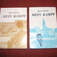 Adolf Hitler - Mein Kampf (2 Vol.) - Istorie