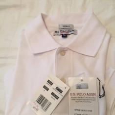 Tricou original US Polo Assn - Tricou barbati US Polo Assn, Marime: 36, Culoare: Alb