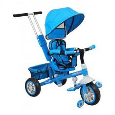 Tricicleta Copii Cu Scaun Reversibil Baby Mix Ur-Etb32 2 Blue
