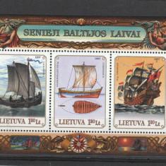 Navigatie, corabii Lituania. - Timbre straine, Nestampilat