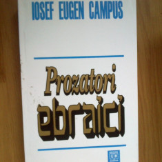 N1 Prozatori Ebraici - Iosef Eugen Campus - Carti Iudaism
