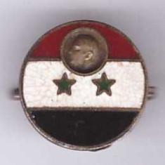 Insigna UAR (Egypt, Syria) Nasser, aprox. 1958, rara!