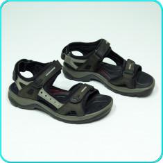 DE FIRMA → Sandale de calitate, piele, comode, aerisite, ECCO → baieti | nr. 36 - Sandale copii Ecco, Culoare: Khaki, Piele naturala