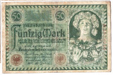 Germania bancnota 50 MARK 1920 50 MARCI