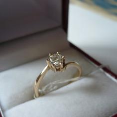 LICHIDEZ COLECTIE- INEL CU BRILIANT - Inel diamant, Carataj aur: 14k, Culoare: Galben