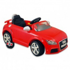Masina electrica copii Baby Mix Audi TT RS Plus Red
