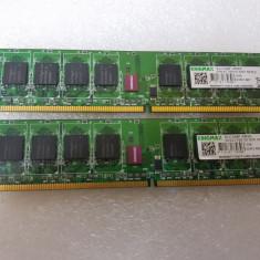 Memorie DDR2 1Gb KingMax KLCD48F-A8NI5 DDR2-667MHz - poze reale - Memorie RAM