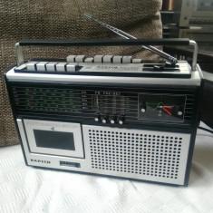 Radiocasetofon KAPSCH KR 450, boombox vintage, impecabil.