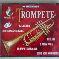 THE WORLD OF TROMPETE - 2 CD Originale ca NOI - Muzica Ambientala