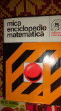 Mica enciclopedie matematica 926pagini