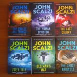 John Scalzi - seria Old Man's War (6 titluri, in limba engleza)