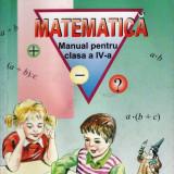 MATEMATICA. MANUAL PT CLASA A IV A de ION PETRICA ED. PETRION - Manual scolar didactica si pedagogica, Clasa 4, Didactica si Pedagogica