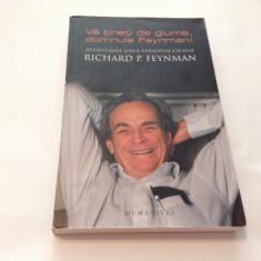 VA TINETI DE GLUME DOMNULE FEYNMAN RICHARD FEYNMAN, RM1 - Carte Fizica