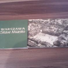 SET CARTI POSTALE 7 BUC.VARSOVIA ALB NEGRU - Carte postala tematica, Necirculata, Printata