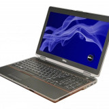 Laptop Dell Latitude E6520, Intel Core i5 Gen 2 2540M 2.6 GHz, 8 GB DDR3, 240 GB SSD NOU, DVDRW, WI-FI, 3G, Bluetooth, WebCam, Display 15.6inch 1600