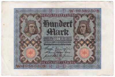 2.Germania bancnota 100 MARK 1920 100 MARCI foto
