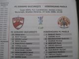 Dinamo Bucuresti - Hibernians FC Paola (27 iulie 2006 / foaie de joc)