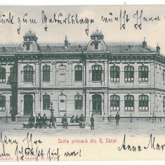 3830 - Buzau, RM. SARAT, School - old postcard - used - 1906 - Carte Postala Muntenia 1904-1918, Circulata, Printata