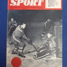 SPORT * REVISTA ILUSTRATA - ANUL II , NR. 2 / FEBRUARIE 1959