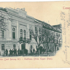 3837 - L i t h o, Banat, TIMISOARA - old postcard - used - 1898