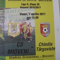 CS Mioveni - Chindia Targoviste (7 aprilie 2017)