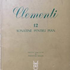 CLEMENTI - 12 SONATINE PENTRU PIAN - Partitura