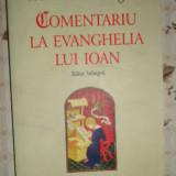 Comentariu la evanghelia lui Ioan editie bilingva 338pag/an 2009- Ioan Eriugena