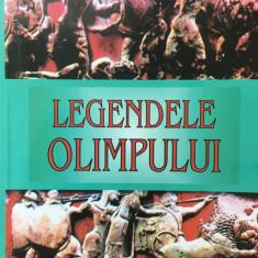 LEGENDELE OLIMPULUI - ZEII - Carte mitologie
