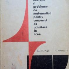 EXERCITII SI PROBLEME DE MATEMATICA PENTRU CONCURSUL DE ADMITERE - Teste admitere liceu