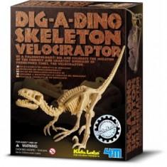 Set Arheologic Velociraptor 4M