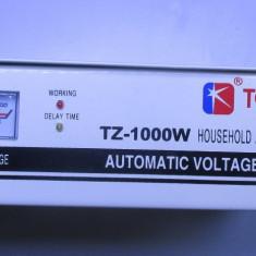 regulator stabilizator de tensiune automat 1000w in 160-250v aut 220 cca 4kg